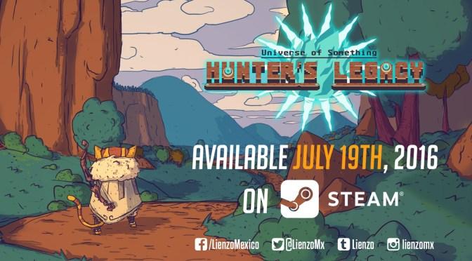 Hunter's Legacy del estudio mexicano Lienzo llega el 19 de julio