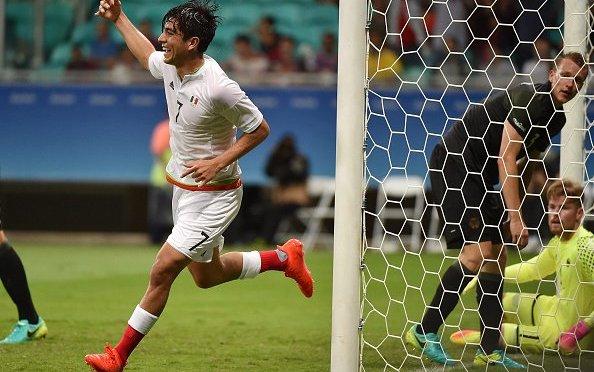 La selección mexicana de fútbol debuta con empate ante Alemania en defensa de la presea de oro (2-2)