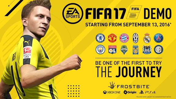 DEMO DE EA SPORTS FIFA 17 YA ESTÁ DISPONIBLE