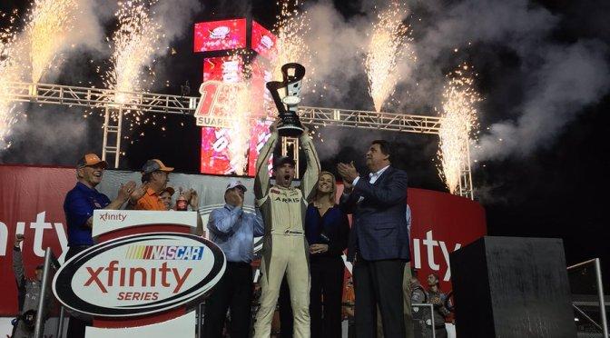Daniel Súarez obtiene histórico título en la NASCAR XFINITY Series