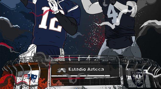 NFL confirma partido entre Raiders vs Patriots en 2017