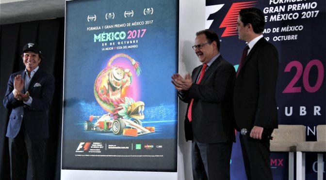 Se revela cartel y precios para el Gran Premio de México 2017