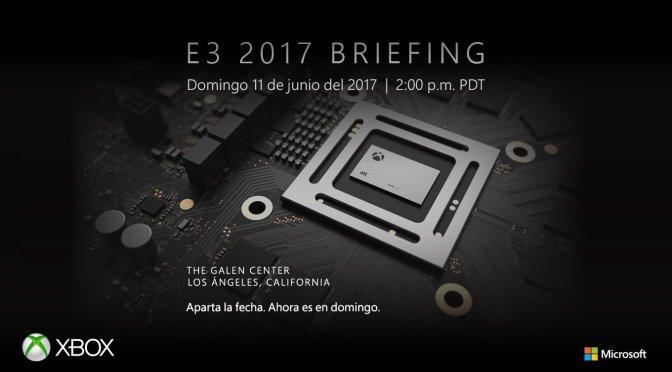 """<span class=""""entry-title-primary"""">La conferencia de Microsoft del E3 2017 ya tiene hora y fecha</span> <span class=""""entry-subtitle"""">Conoceremos todos los detalles de Project Scorpio</span>"""