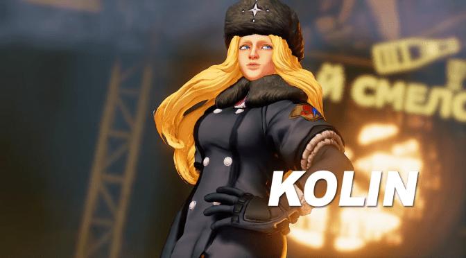 Kolin, la fantasma de hielo y nieve