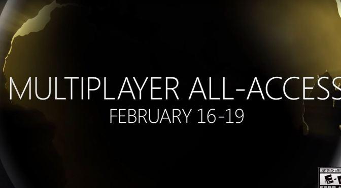 """<span class=""""entry-title-primary"""">¡También hay multiplayer online gratis en Xbox este fin de semana!</span> <span class=""""entry-subtitle"""">Aprovechen que se termina pronto</span>"""
