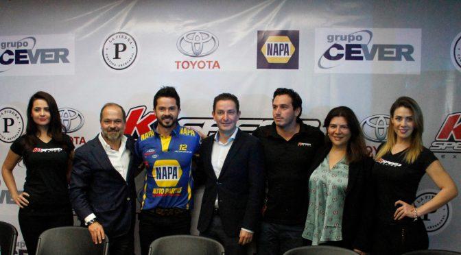 Se presentó la Escudería K1 Speed para NASCAR México