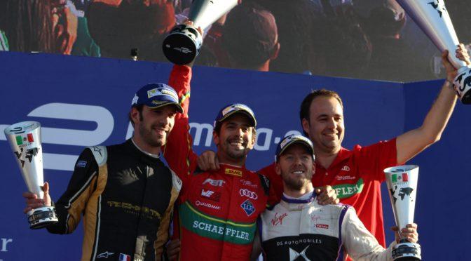 Lucas di Grassi tiene su revancha en el ePrix de la CDMX, Esteban Gutiérrez finaliza en el Top Ten