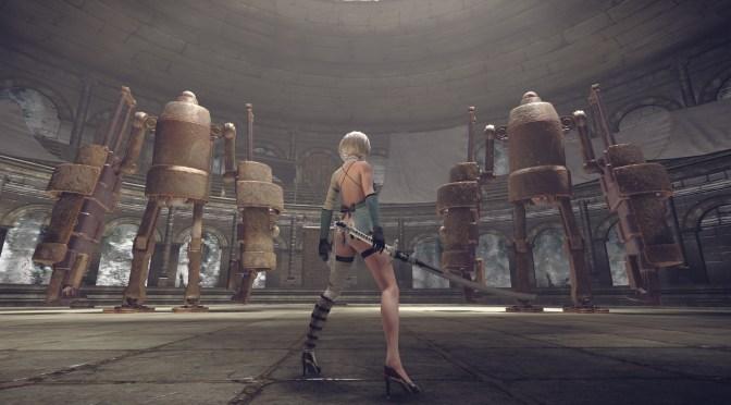 """<span class=""""entry-title-primary"""">Pelea contra el CEO de Square Enix en el DLC de NieR: Automata</span> <span class=""""entry-subtitle"""">¿""""3C3C1D119440927""""? Qué nombrecito le pusieron</span>"""