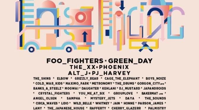 Foo Fighters y Green Day encabezan el cartel del Corona Capital 2017