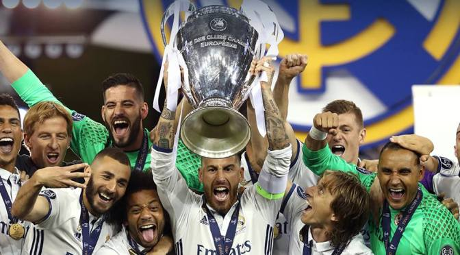 Real Madrid, bicampeón de la Champions League