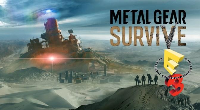 """<span class=""""entry-title-primary"""">[E3 2017] Hands-On de Metal Gear Survive</span> <span class=""""entry-subtitle"""">Un spin-off lleno de acción</span>"""
