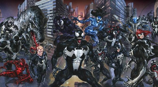 """<span class=""""entry-title-primary"""">Marvel Cómics presenta: Venomverse</span> <span class=""""entry-subtitle"""">El nemesis de Parker se ha ganado su propio evento</span>"""