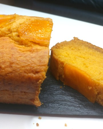 Vegan mango sponge cake easy recipe
