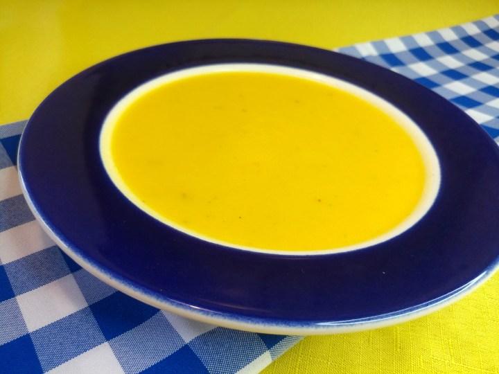 מתכון למרק קרם פלפלים צהובים