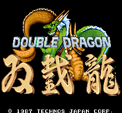Double Dragon - Arcade - 0 - Logo