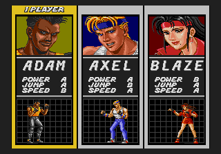 Streets of Rage - 2