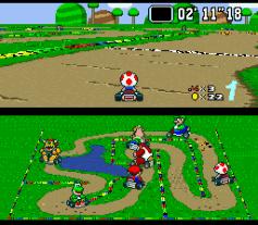 Super Mario Kart - Super NES