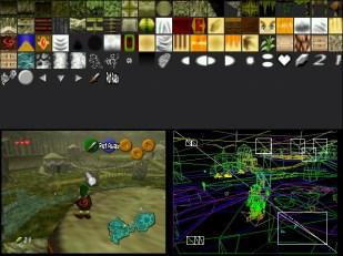 מסך Debugging של UltraHLE