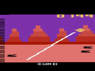 Gamma Attack Screen