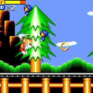 Tails Adventure Screen