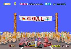 Sega Out Run Goal