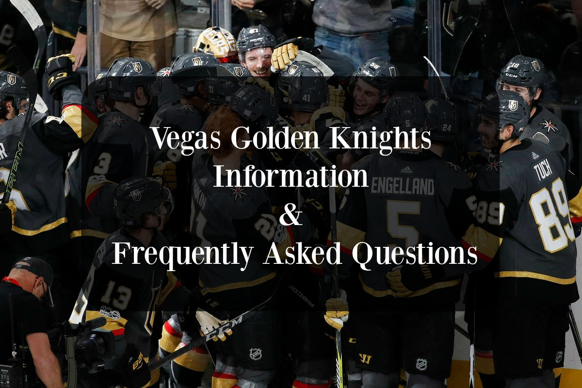 22aa1f942da Vegas Golden Knights Frequently Asked Questions