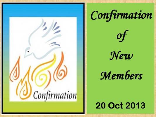 Confirmation Service