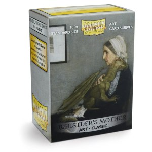Dragon Shield: Classic Whistler's Mother (100) Protective Sleeves