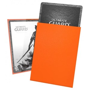 Ultimate Guard: Katana Orange (100) Protective Standard Sleeves