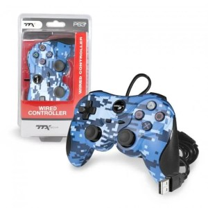 PS3 TTX: Wired USB Controller – Various Colors