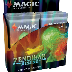 Magic The Gathering: Zendikar Rising – Collector Booster Display