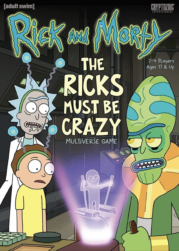 Ricky And Morty The Ricks Must Be Crazy Multiverse Game