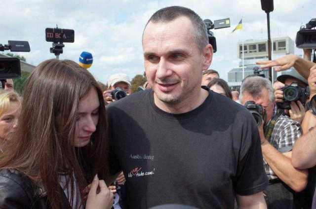 Сенцов дома! Опубліковані історичні фото з Борисполя