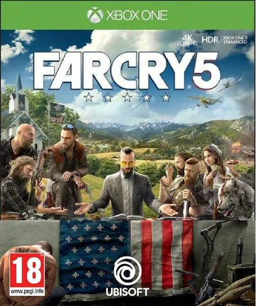 Far Cry 5 Xbox One cover