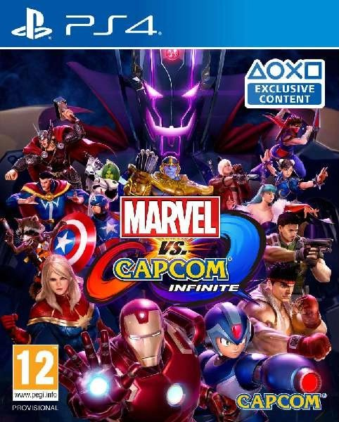 Marvel v Capcom Infinite PS4 cover