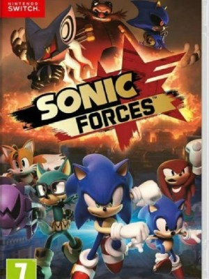 Sonic forces Nintendo Switch cover