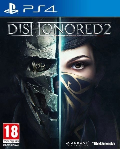 Dishonored 2 PS4 cover