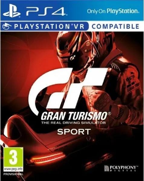 Gran Turismo PS4 cover