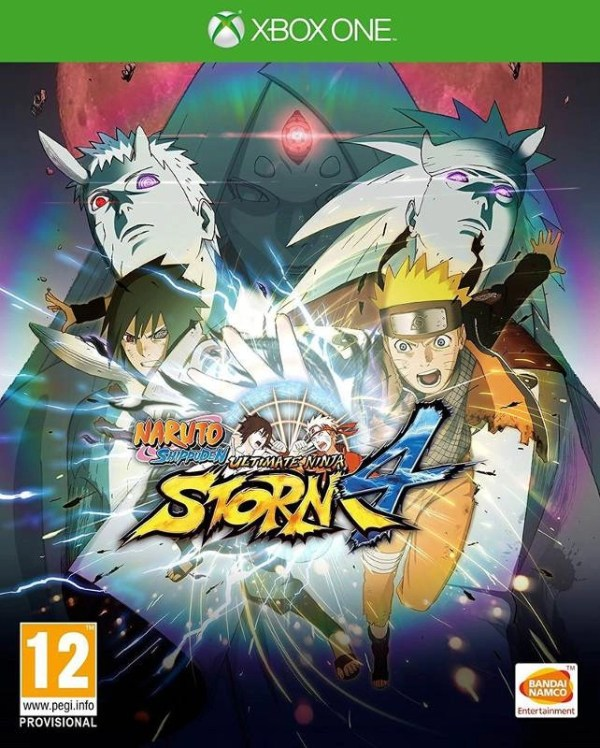 Naruto Shippuden Ultimate Ninja Storm 4 Xbox One cover