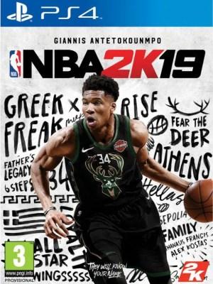 NBA 2K19 Playstation 4 cover