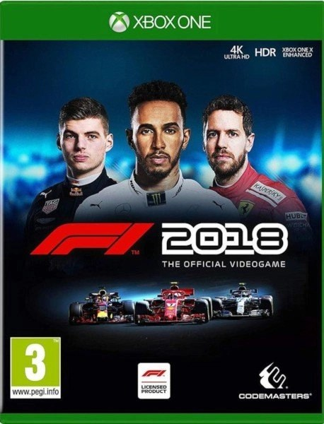 F1 2018 Xbox One cover