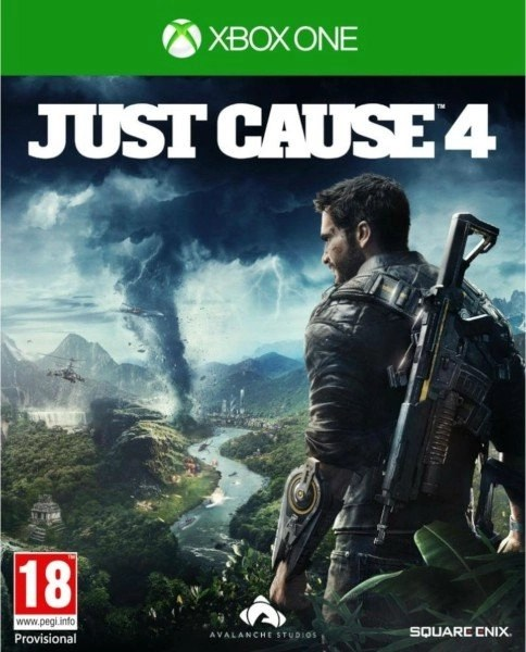 Just Cause 4 Xbox One cover