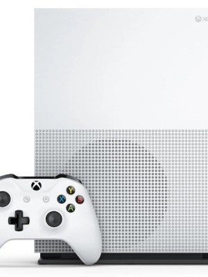 Xbox One S Console 1TB Side