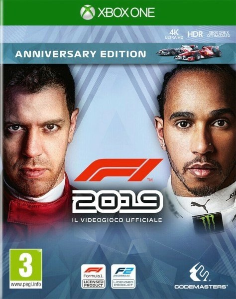 F1 2019 Xbox One cover