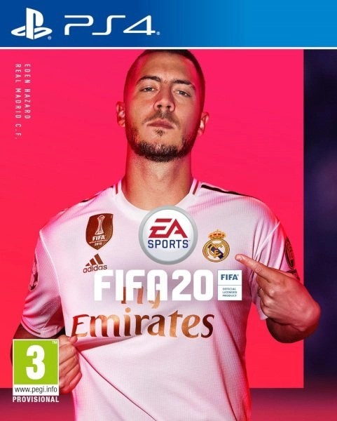 FIFA 20 Playstation 4 cover
