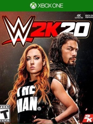 WWE 2K20 Xbox One Cover