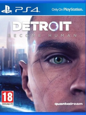 Detroit Become Human Playstation 4 cover