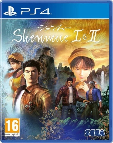 Shenmue 1 and 2 Playstation 4 cover