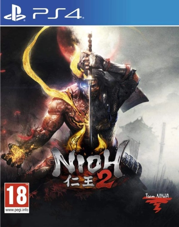 Nioh 2 Playstation 4 cover