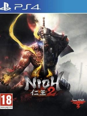 Nioh 2 Playstation 4 cover